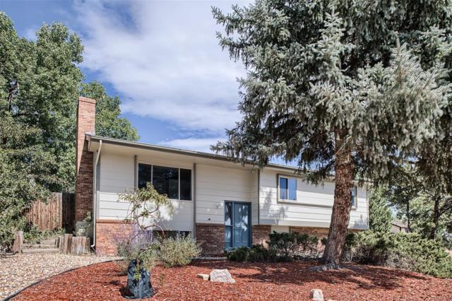 350 E Rockrimmon Boulevard, Colorado Springs, CO 80919 (#4847906) :: The Tamborra Team