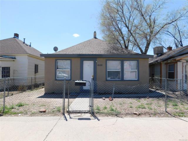 1608 W 17th Street, Pueblo, CO 81003 (MLS #4849550) :: Keller Williams Realty