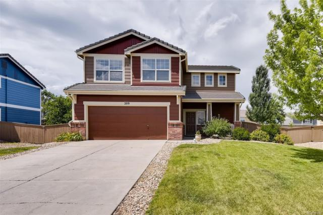 209 Stockwell Street, Castle Rock, CO 80104 (#4851206) :: My Home Team