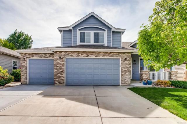 318 Fossil Drive, Johnstown, CO 80534 (#4856785) :: Bring Home Denver