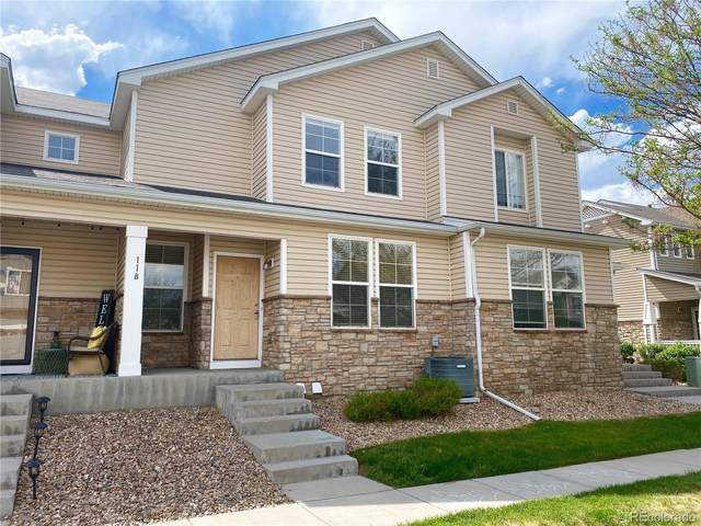 9758 Laredo Street B, Commerce City, CO 80022 (#4858606) :: The Heyl Group at Keller Williams