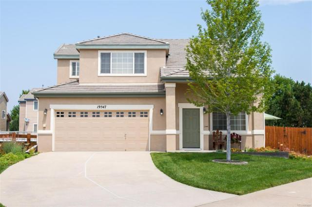 19547 E Bellisario Creek Drive, Parker, CO 80134 (#4860079) :: The Pete Cook Home Group