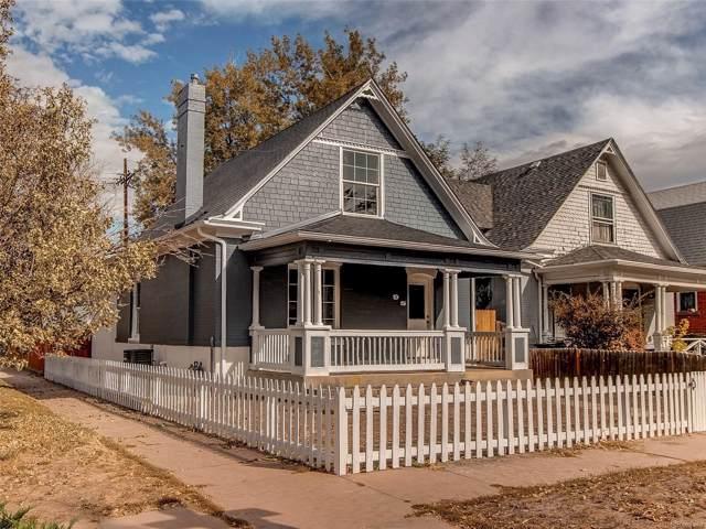 95 W Maple Avenue, Denver, CO 80223 (MLS #4861501) :: Colorado Real Estate : The Space Agency