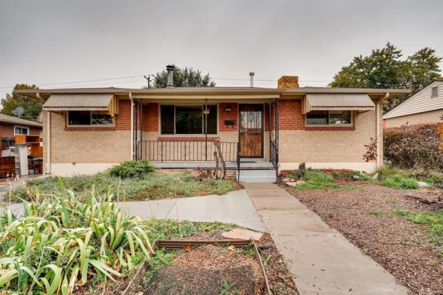 1369 S Umatilla Street, Denver, CO 80223 (#4862177) :: Sellstate Realty Pros