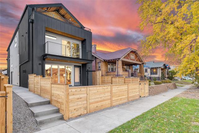 1421 Meade Street, Denver, CO 80204 (#4862326) :: House Hunters Colorado