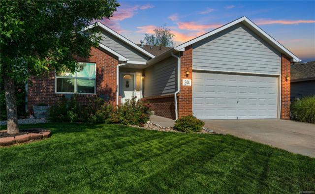 244 Sandstone Drive, Johnstown, CO 80534 (MLS #4863584) :: Kittle Real Estate