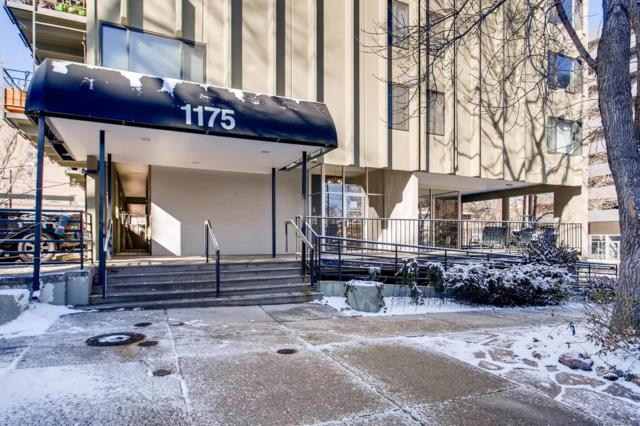 1175 Vine Street #507, Denver, CO 80206 (#4864604) :: Wisdom Real Estate