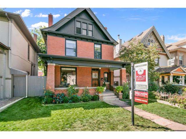 1241 York Street, Denver, CO 80206 (#4864701) :: Wisdom Real Estate