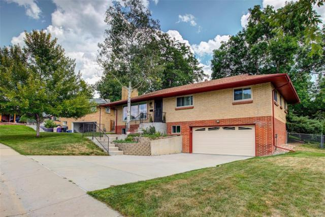 5700 E Flora Place, Denver, CO 80222 (#4865619) :: House Hunters Colorado