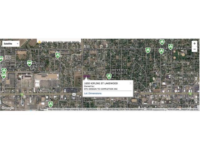 1650 Kipling Street, Lakewood, CO 80215 (MLS #4866965) :: 8z Real Estate