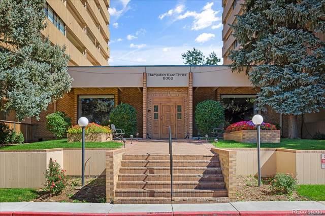 8060 E Girard Avenue #216, Denver, CO 80231 (#4867817) :: The Griffith Home Team