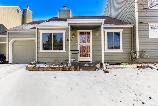 4720 S Dudley Street #34, Denver, CO 80123 (#4874858) :: The HomeSmiths Team - Keller Williams