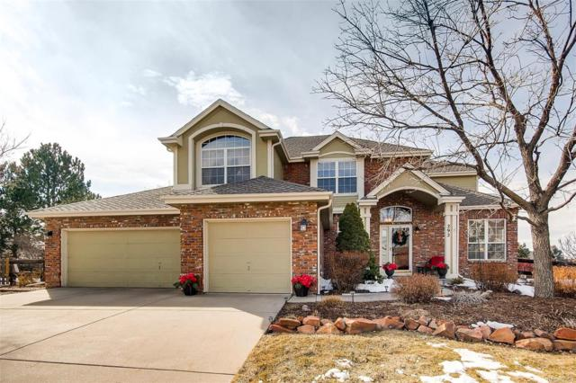 292 Huntley Court, Castle Pines, CO 80108 (#4878034) :: The HomeSmiths Team - Keller Williams