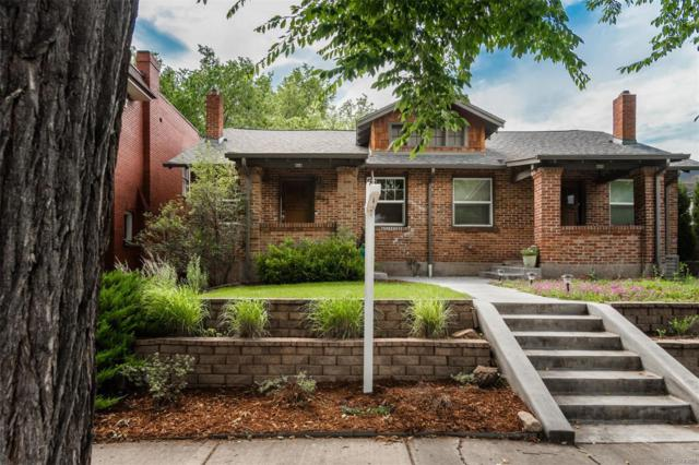 663 N Corona Street, Denver, CO 80218 (#4878296) :: The Griffith Home Team