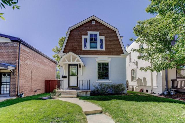 381 Clarkson Street, Denver, CO 80218 (#4879026) :: The Galo Garrido Group
