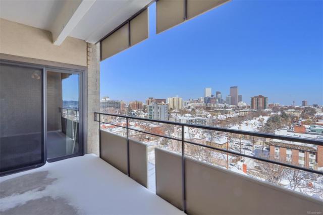 800 Pearl Street #909, Denver, CO 80203 (MLS #4879850) :: 8z Real Estate