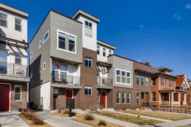 1747 Vine Street, Denver, CO 80206 (#4881000) :: My Home Team