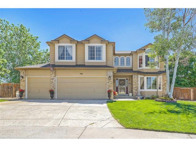 490 Bexley Court, Highlands Ranch, CO 80126 (MLS #4903457) :: 8z Real Estate