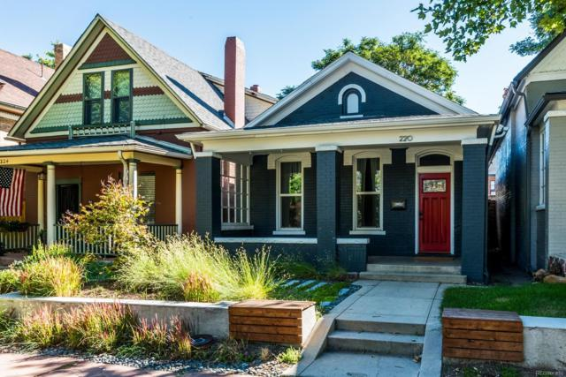 220 N Sherman Street, Denver, CO 80203 (#4910675) :: The Dixon Group