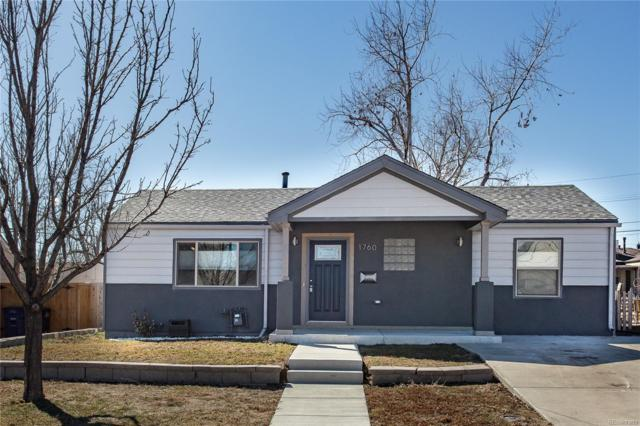 1760 W Burlington Place, Denver, CO 80221 (#4916704) :: The Pete Cook Home Group