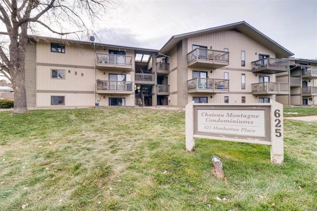 625 Manhattan Place #213, Boulder, CO 80303 (MLS #4921492) :: Kittle Real Estate