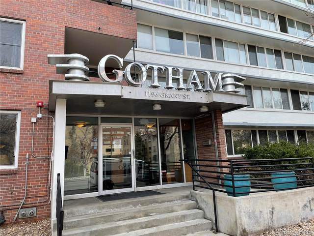 1196 N Grant Street #110, Denver, CO 80203 (MLS #4922335) :: 8z Real Estate