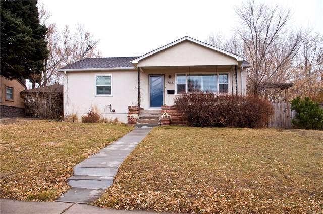 705 N 31st Street, Colorado Springs, CO 80904 (MLS #4925765) :: 8z Real Estate
