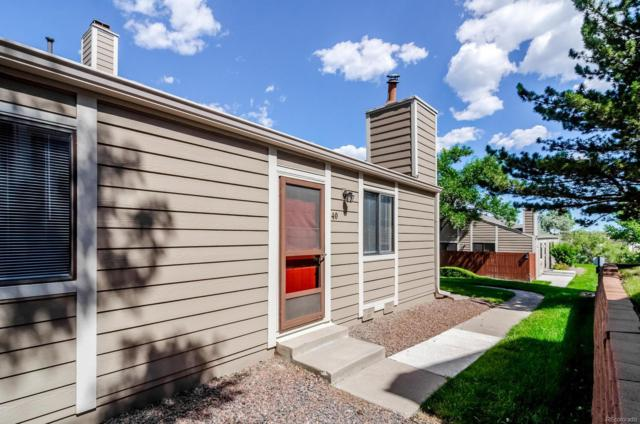 18274 W 58th Place #40, Golden, CO 80403 (#4928340) :: HomePopper
