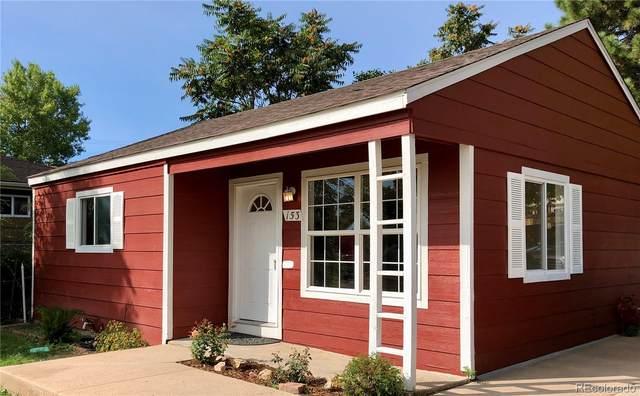 153 S Osceola Street, Denver, CO 80219 (#4934667) :: Berkshire Hathaway Elevated Living Real Estate