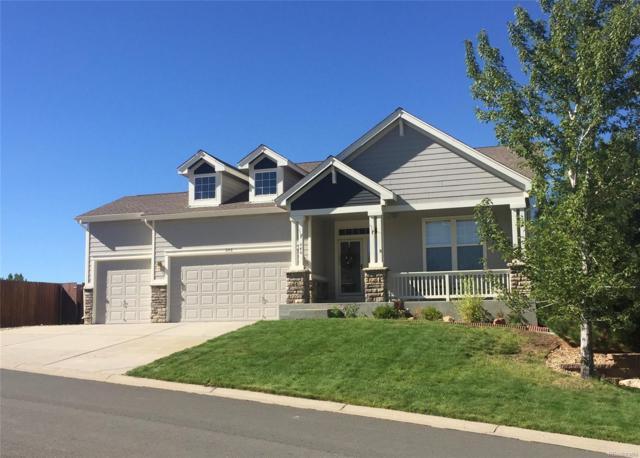 646 Eaglestone Drive, Castle Rock, CO 80104 (MLS #4935152) :: Kittle Real Estate