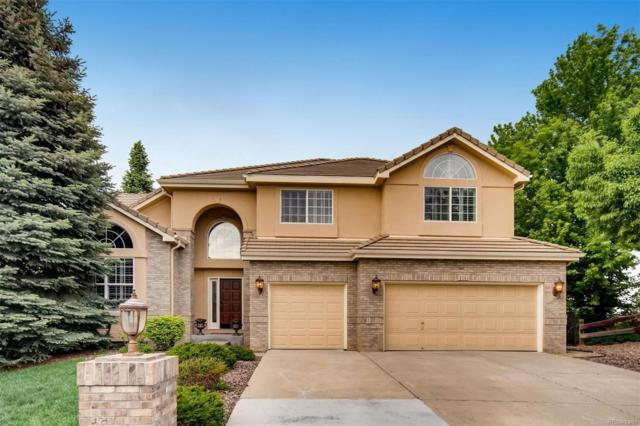 9291 S Cedar Hill Way, Lone Tree, CO 80124 (#4937302) :: Bring Home Denver with Keller Williams Downtown Realty LLC