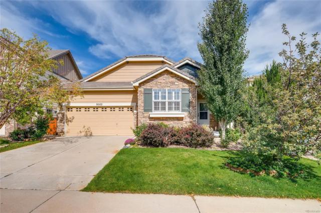 9502 Longstone Drive, Parker, CO 80134 (#4937561) :: The Peak Properties Group
