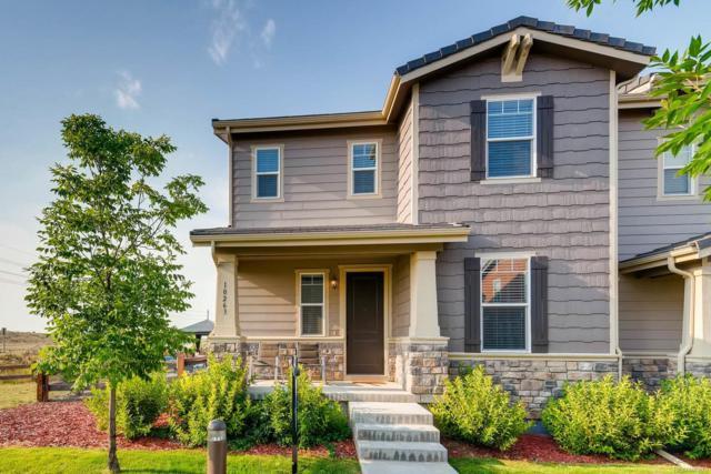 10263 Tall Oaks Street, Parker, CO 80134 (#4938673) :: The HomeSmiths Team - Keller Williams