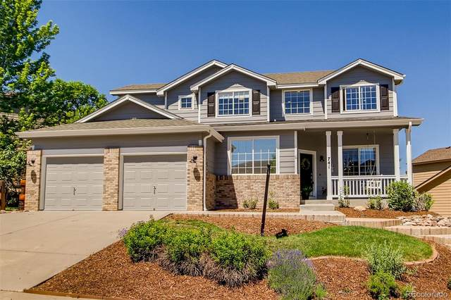 741 Deer Clover Circle, Castle Pines, CO 80108 (MLS #4940475) :: 8z Real Estate