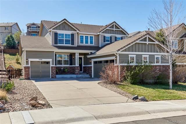 2498 Bellavista Street, Castle Rock, CO 80109 (MLS #4945134) :: 8z Real Estate