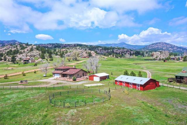 201 Spring Gulch Drive, Lyons, CO 80540 (#4946333) :: The Harling Team @ Homesmart Realty Group