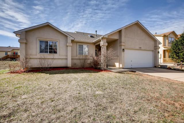 119 Wheat Ridge Street, Palmer Lake, CO 80133 (#4946838) :: Venterra Real Estate LLC