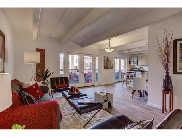 1441 N Humboldt Street #205, Denver, CO 80218 (#4952231) :: The Peak Properties Group