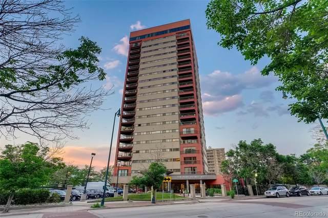 100 Park Avenue W #1603, Denver, CO 80203 (#4952910) :: Stephanie Fryncko | Keller Williams Integrity