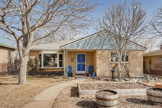 50 S Xavier Street, Denver, CO 80219 (#4954115) :: The Scott Futa Home Team