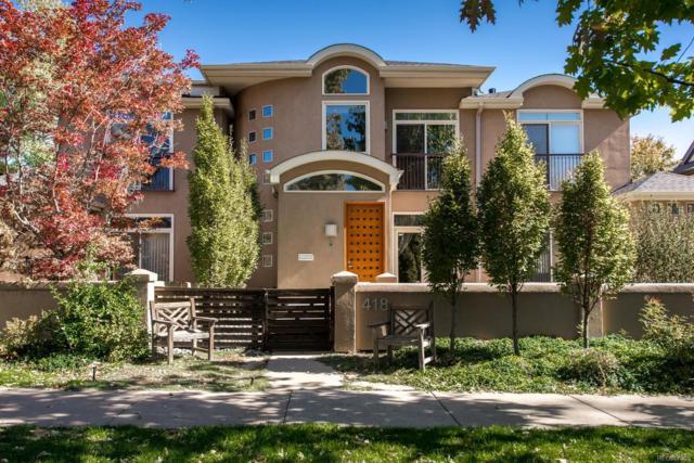 418 Detroit Street, Denver, CO 80206 (#4961738) :: Wisdom Real Estate