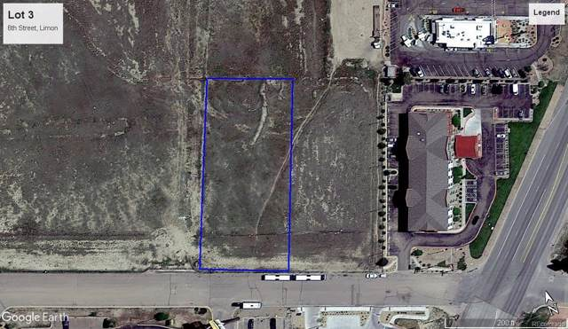 Lot 3 6th Street, Limon, CO 80828 (#4969423) :: The DeGrood Team