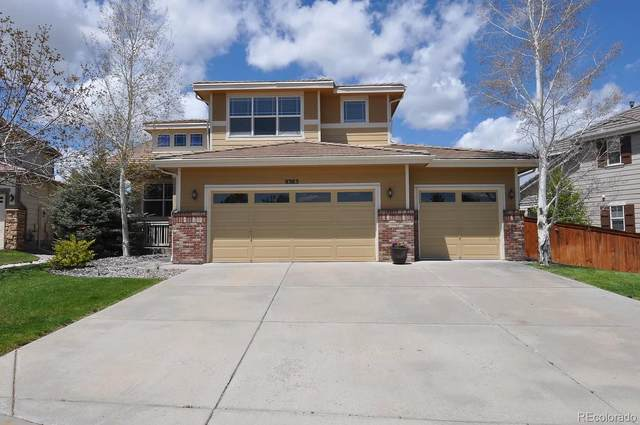 9383 Branham Drive, Parker, CO 80134 (MLS #4972195) :: 8z Real Estate