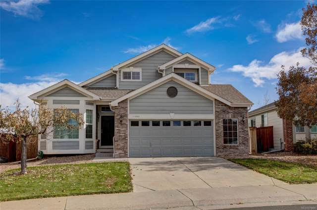 11862 Trail View Lane, Parker, CO 80134 (#4973602) :: The Griffith Home Team