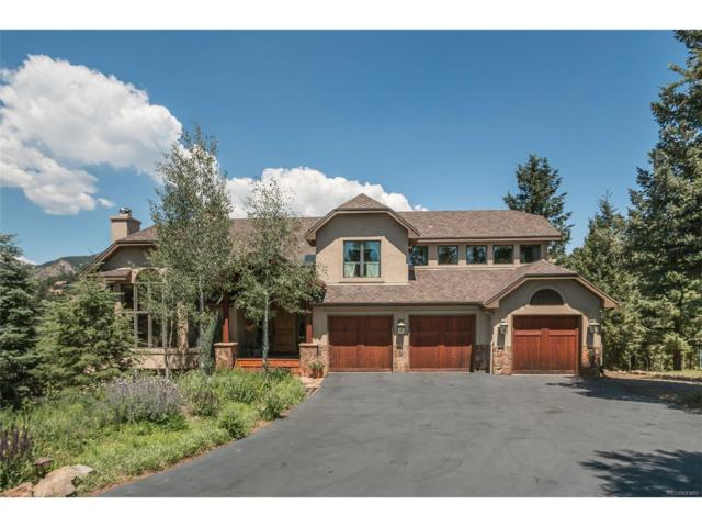 3661 Overlook Trail, Evergreen, CO 80439 (MLS #4973908) :: 8z Real Estate