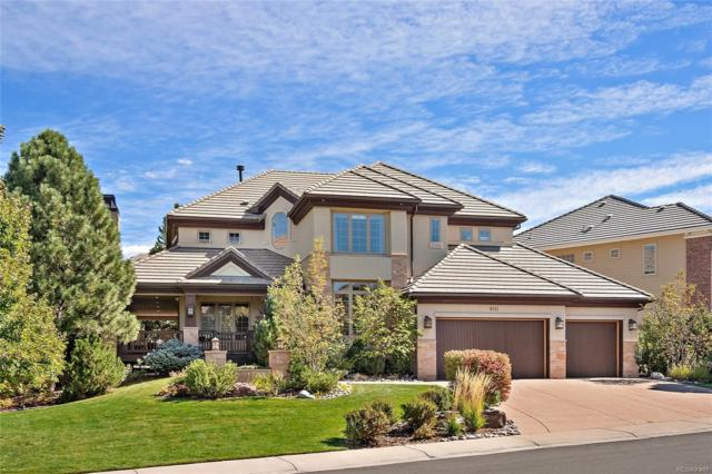 9111 S Lost Hill Drive, Lone Tree, CO 80124 (#4986391) :: The HomeSmiths Team - Keller Williams