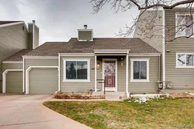 4720 S Dudley Street #34, Denver, CO 80123 (#4987455) :: The Peak Properties Group