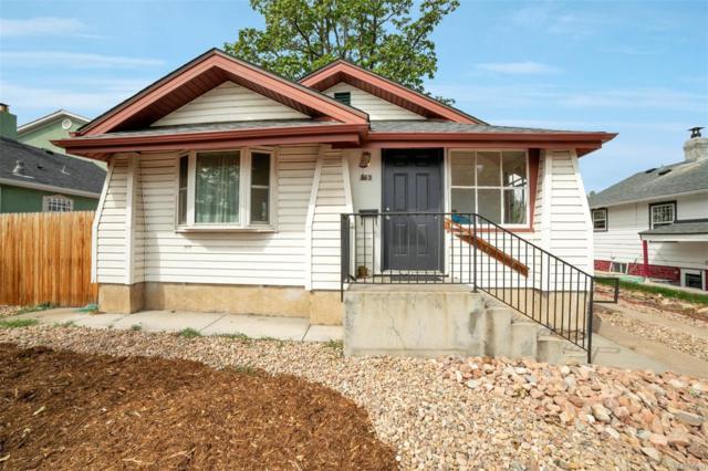 163 Grove Street, Denver, CO 80219 (#4990120) :: The Peak Properties Group