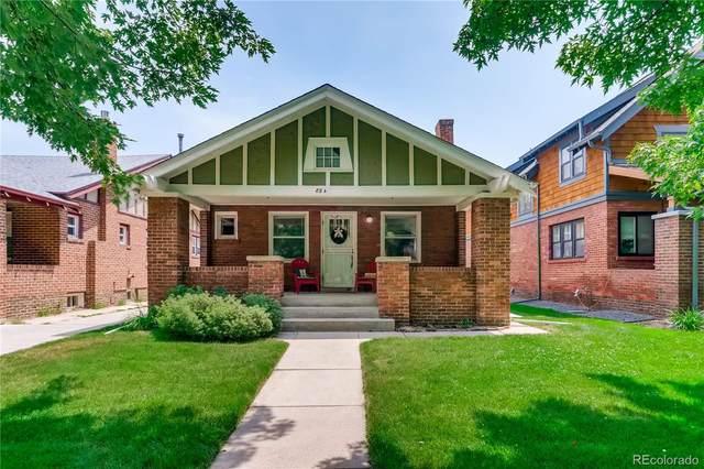 884 S Vine Street, Denver, CO 80209 (#4991025) :: Kimberly Austin Properties