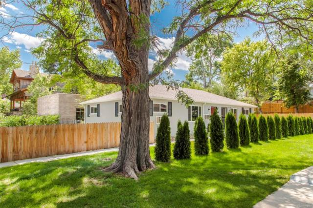 2543 S Pearl Street, Denver, CO 80210 (#4993755) :: The Pete Cook Home Group